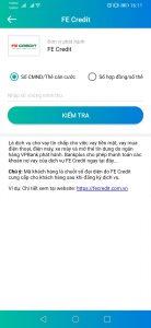 Nhập CMND để Tra Cứu Hợp Đồng FE