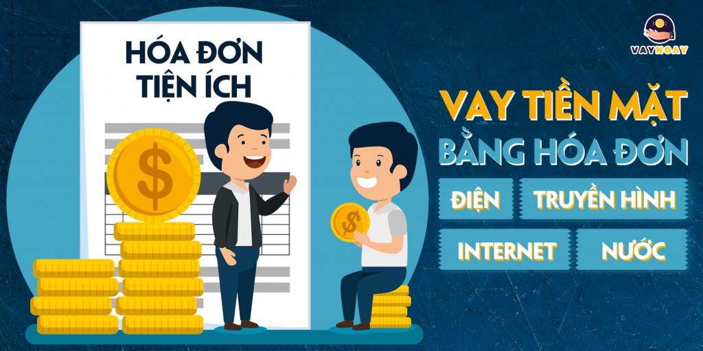 Vay theo hóa đơn tiện ích ngân hàng nào tốt nhất?